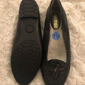 Ladies black ME TOO loafer